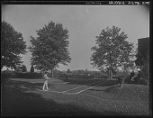 view [Miscellaneous Images in Maryland]: people playing tennis. digital asset: [Miscellaneous Images in Maryland] [glass negative]: people playing tennis.