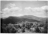 view [Miscellaneous Sites in New Hampshire, Series 1]: Jackson, New Hampshire, with a partial view of some of the old Wentworth Hall hotel buildings behind the trees in the lower left center of the image. digital asset: [Miscellaneous Sites in New Hampshire, Series 1] [glass negative]: Jackson, New Hampshire, with a partial view of some of the old Wentworth Hall hotel buildings behind the trees in the lower left center of the image.