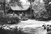 view [Middlegate Japanese Gardens]: Guest house. digital asset: [Middlegate Japanese Gardens]: Guest house.: 1962.