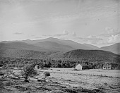 view [Miscellaneous Sites in New Hampshire, Series 1]: a view across the Hayes Farm on Iron Mountain near Jackson, New Hampshire, toward Mt. Washington, with Pinkham Notch in the right distance. digital asset: [Miscellaneous Sites in New Hampshire, Series 1] [glass negative]: a view across the Hayes Farm on Iron Mountain near Jackson, New Hampshire, toward Mt. Washington, with Pinkham Notch in the right distance.