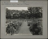 view Unidentified Garden in Caldwell, New Jersey digital asset: Unidentified Garden in Caldwell, New Jersey [photoprint]