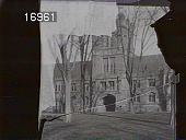 view [Princeton University]: East Pyne Hall (built 1897) viewed from Cannon Green. digital asset: [Princeton University] [nitrate negative] East Pyne Hall (built 1897) viewed from Cannon Green.