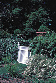 view [Villa Narcault]: gate leading back up to the level of the house. digital asset: [Villa Narcault]: gate leading back up to the level of the house.: 2001 May.