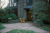 view [Inwood]: front entrance to house. digital asset: [Inwood]: front entrance to house.: 2002 Nov.