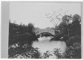 view [Central Park]: Gapstow Bridge, over the neck of the Pond. digital asset: [Central Park] [glass negative]: Gapstow Bridge, over the neck of the Pond.