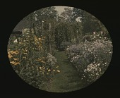 view [Seven Oaks]: garden view. digital asset: [Seven Oaks] [slide]: garden view.