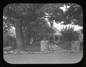 view [Lewis Garden (NY)]: the home of R. Frank Lewis on Main Street, Berlin, New York, said to be one of the oldest homes in Berlin. digital asset: [Lewis Garden (NY)] [lantern slide]: the home of R. Frank Lewis on Main Street, Berlin, New York, said to be one of the oldest homes in Berlin.