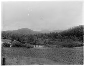 view [Miscellaneous Sites in the Adirondack Mountains]: an unidentified location, possibly in the vicinity of Lake Placid. digital asset: [Miscellaneous Sites in the Adirondack Mountains] [glass negatives]: an unidentified location, possibly in the vicinity of Lake Placid.