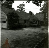 view [Warner Garden]: front of house and driveway area. digital asset: [Warner Garden] [photographic print]: front of house and driveway area.