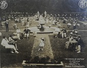 view [Echo Lawn]: the walled garden as seen in the silent film, The Scales of Justice. digital asset: [Echo Lawn]: the walled garden as seen in the silent film, The Scales of Justice.: [ca. 1913]