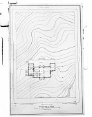 view [Briggs Garden]: photograph of a topographical survey of the Briggs property. digital asset: [Briggs Garden] [glass negative]: photograph of a topographical survey of the Briggs property.