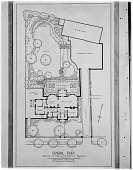 view [Steedman Garden]: photographic image of Sibley Coslett Smith's plan for the garden at 271 Angell Street, known as the Charles Steedman house. digital asset: [Steedman Garden] [glass negative]: photographic image of Sibley Coslett Smith's plan for the garden at 271 Angell Street, known as the Charles Steedman house.
