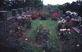 view [Beacon Ridge South]: rose beds in oval enclosure. digital asset: [Beacon Ridge South]: rose beds in oval enclosure.: 1999 Jun.