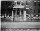 view [Miscellaneous Sites in Providence, Rhode Island]: 38 Brown Street, the former home of Brown University Chancellor William Goddard. digital asset: [Miscellaneous Sites in Providence, Rhode Island] [glass negative]: 38 Brown Street, the former home of Brown University Chancellor William Goddard.
