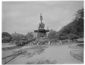view [Princes Street Gardens]: the Ross Fountain. digital asset: [Princes Street Gardens] [glass negative]: the Ross Fountain.