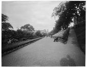 view [Princes Street Gardens]: a view of the gardens. digital asset: [Princes Street Gardens] [glass negative]: a view of the gardens.