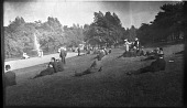 view [Unidentified Sites]: an urban park in an unidentified location, possibly England. digital asset: [Unidentified Sites] [negative]: an urban park in an unidentified location, possibly England.
