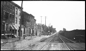 view [Unidentified Sites]: an unidentified street scene in an urban location in the United States of America. digital asset: [Unidentified Sites] [negative]: an unidentified street scene in an urban location in the United States of America.