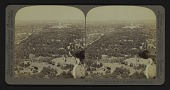 view From Washington Monument (E.) over Agricultural Grounds to the Capitol, Washington, U.S.A. digital asset: From Washington Monument (E.) over Agricultural Grounds to the Capitol, Washington, U.S.A.