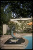 view [Williams Garden]: mermaid fountain. digital asset: [Williams Garden] [slide]: mermaid fountain.