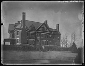 view [Grafton Hall]: a view of the house. digital asset: [Grafton Hall] [glass negative]: a view of the house.