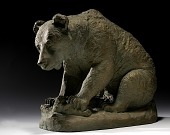 view Grizzly Bear Sitting digital asset number 1