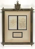 view Letter to U. S. President James Buchanan, March 24, 1862 digital asset number 1