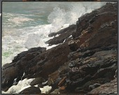 view High Cliff, Coast of Maine digital asset number 1