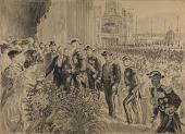 view Inauguration de L'Exposition Internationale de Liege, en 1905 digital asset number 1