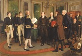 view The Signing of the Treaty of Ghent, Christmas Eve, 1814 digital asset number 1