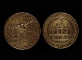 view B and O Railroad Centennial Celebration Medal digital asset number 1