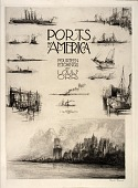 view Title Page (Notes from the Artist's Sketchbook), from the portfolio, Ports of America digital asset number 1
