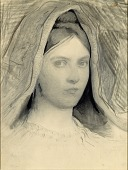 view Head of Mary B. Thayer digital asset number 1