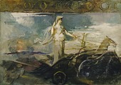 view Minerva in a Chariot digital asset number 1