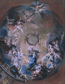 view God the Father Receiving the Madonna of the Immaculate Conception digital asset number 1