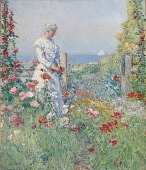 view In the Garden (Celia Thaxter in Her Garden) digital asset number 1