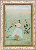 view Lady with a Portrait of Jahangir digital asset number 1