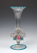 view Vase with Dolphins and Flowers digital asset number 1