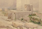 view Pompeian Fountain and Horse Trough, 1880 digital asset number 1