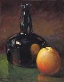 view Still Life--Apples and Bottle digital asset number 1