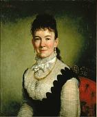 view Mrs. Albert J. Myer (Catherine Walden) digital asset number 1