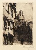 view Street, Mont St. Michel digital asset number 1