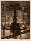 view Fountain Square: Night (Cincinnati) digital asset number 1