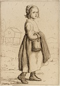 view Little Peasant Girl digital asset number 1