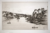 view Brittany Fishing Village digital asset number 1