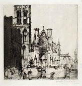 view St. Jacques Cathedral, Dieppe digital asset number 1