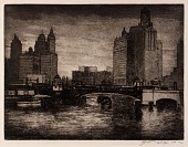 view City Towers (Chicago River) digital asset number 1