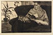view Man Reading (Portrait of Gustaf Dalstrom) digital asset number 1
