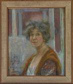 view Self Portrait in 1924 digital asset number 1