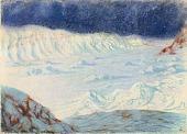 view Moonlight Gold--Head of Bowdoin Bay, Greenland 1894 digital asset number 1